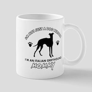 Italian Greyhound dog breed designs Mug