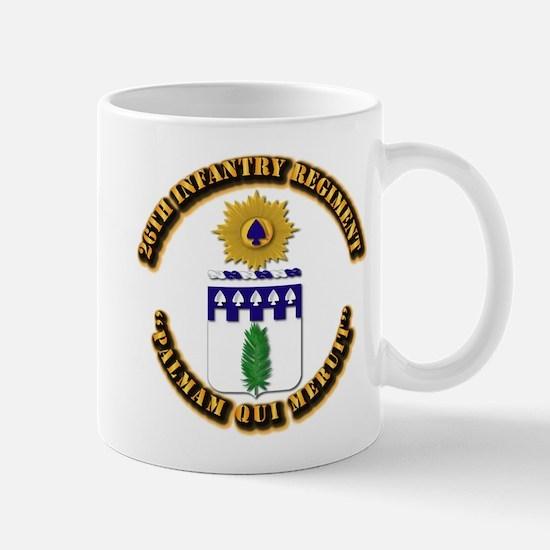 COA - 26th Infantry Regiment Mug