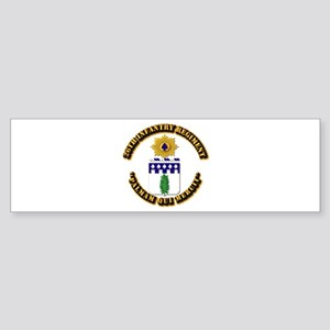 COA - 26th Infantry Regiment Sticker (Bumper)