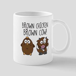 Cute Brown Chicken Brown Mug