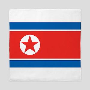 North Korea Queen Duvet