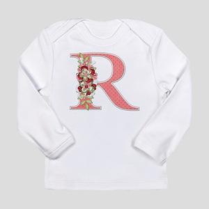 Monogram Letter R Long Sleeve T-Shirt