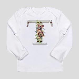 Monogram Letter T Long Sleeve T-Shirt