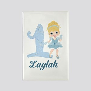 Princess 1st Birthday PERSONALIZED Rectangle Magne
