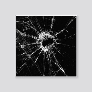 Broken Glass 1 Sticker