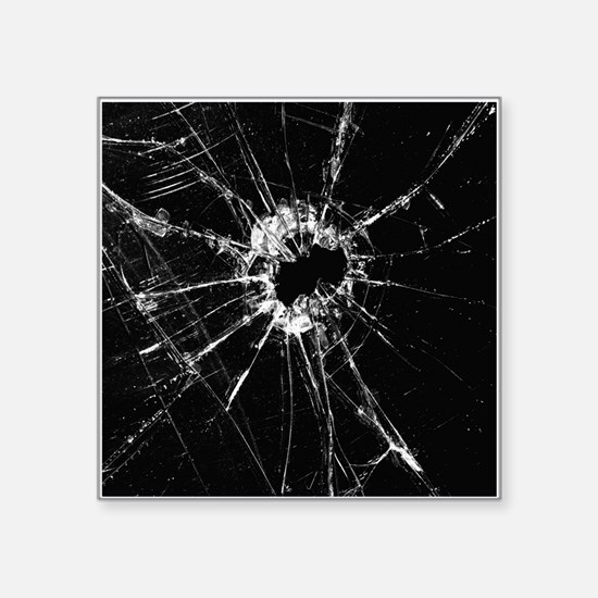 Broken Glass 1 Sticker