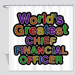 World's Greatest CHIEF FINANCIAL OFFICER Shower Cu
