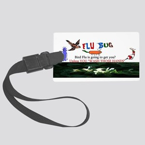 Bird Flu Epidemic Luggage Tag