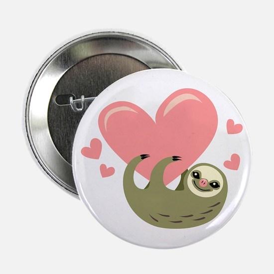 """Sloth 2.25"""" Button"""