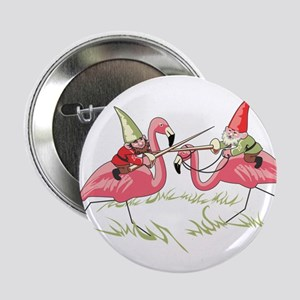 "Jousting Gnomes 2.25"" Button"