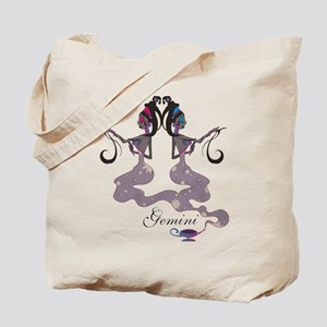 Starlight Gemini Tote Bag