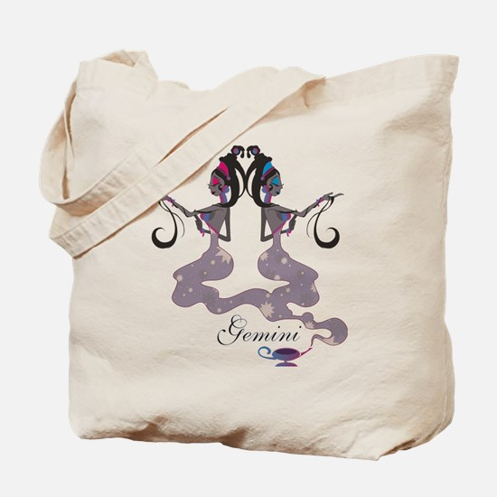 Starlight Gemini Tote Bag