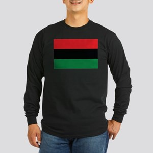 The Red, Black and Green Flag Long Sleeve T-Shirt