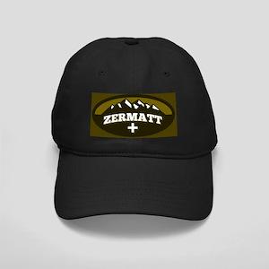 Zermatt Olive Black Cap