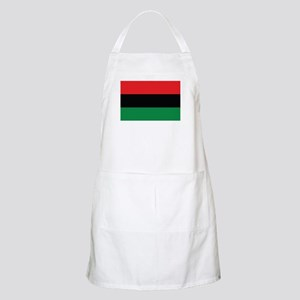 The Red, Black and Green Flag Apron