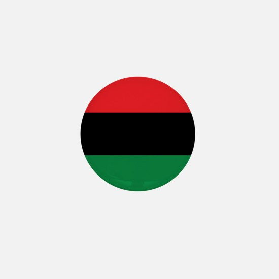The Red, Black and Green Flag Mini Button (10 pack