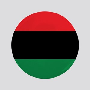 """The Red, Black and Green Flag 3.5"""" Button"""
