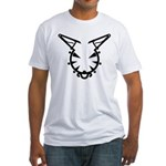 Wicked Kitty Fitted T-Shirt