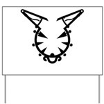 Wicked Kitty Yard Sign