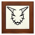Wicked Kitty Framed Tile