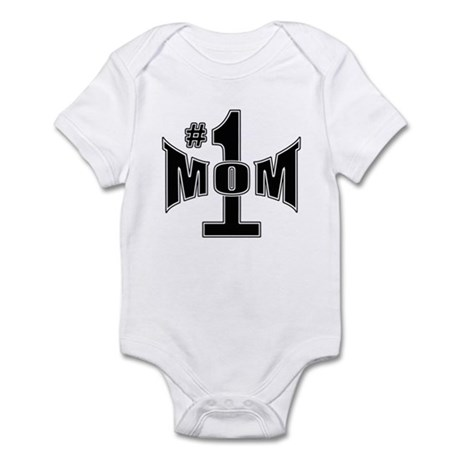 Number one mom Infant Bodysuit