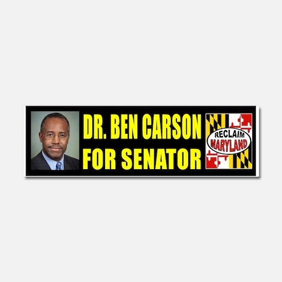 BEN CARSON FOR SENATE Car Magnet 10 x 3