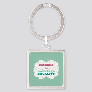 Catholic for Equality Keychains