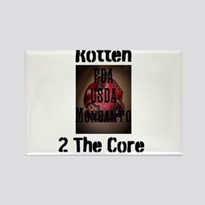 Rotten 2 The Core Rectangle Magnet