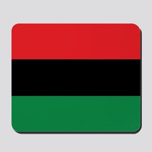 The Red, Black and Green Flag Mousepad
