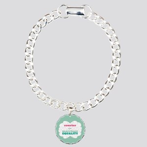 Courier for Equality Bracelet