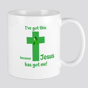Green Jesus has got me Mug