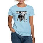 Bulldog Pride Women's Pink T-Shirt