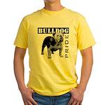 Bulldog Pride Yellow T-Shirt