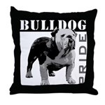 Bulldog Pride Throw Pillow
