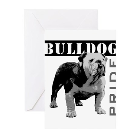 Bulldog Pride Greeting Cards (Pk of 10)