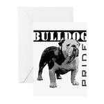 Bulldog Pride Greeting Cards (Pk of 10)