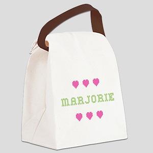 Marjorie Canvas Lunch Bag