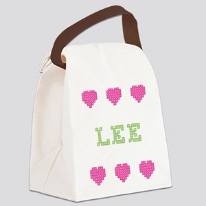 Lee Canvas Lunch Bag