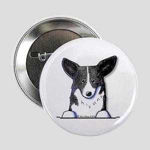 B/W Pocket Corgi Button