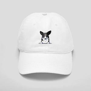 B/W Pocket Corgi Cap