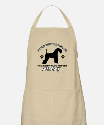Kerry Blue Terrier dog breed designs Apron
