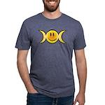 Wiccan Emoji Mens Tri-blend T-Shirt