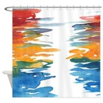 Atom Sea #21 Shower Curtain 2