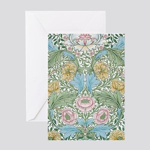 Myrtle Design By William Morris Greeting Card