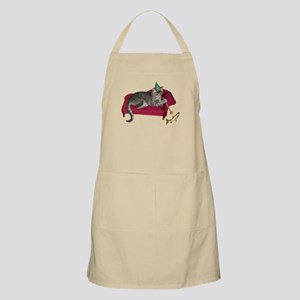 Cat on Couch Apron
