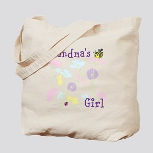 Flower Bees and Lady Bug Tote Bag