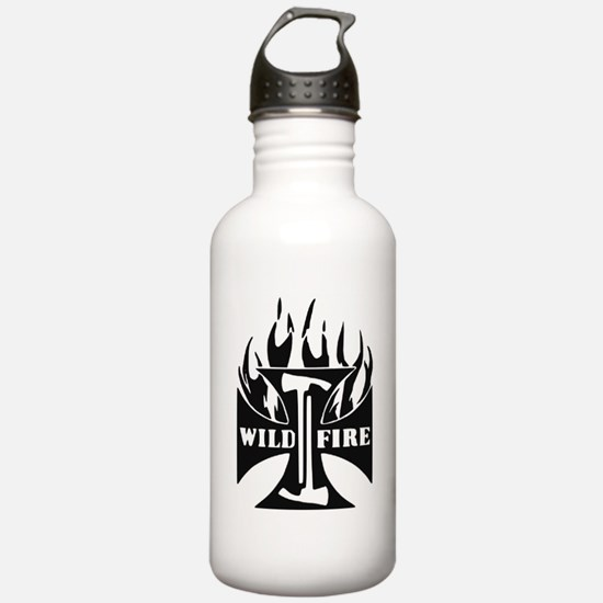 WildFire Iron Cross Pulaski Water Bottle