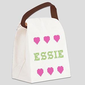 Essie Canvas Lunch Bag