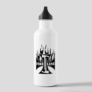 Fire Line Pulaski Iron Cross Water Bottle