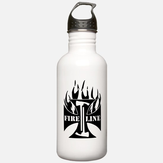 Fire Line Pulaski Iron Cross Water Bottle